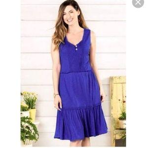 Matilda Jane Adventure into the blue dress sz M